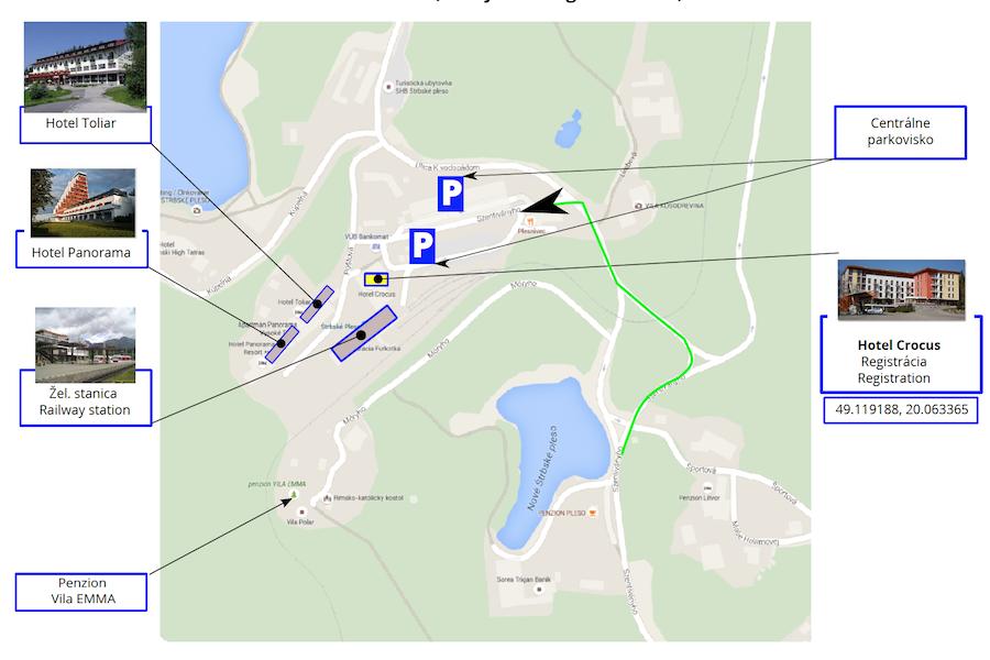 1abcf05331 Situačná mapa - Štrbské Pleso Tatry Running Tour 2019